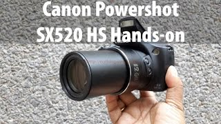 Canon Powershot SX520 HS Unboxing & Full Review