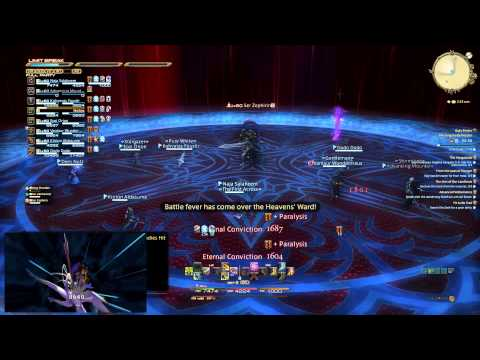 FFXIV HW | FINAL BOSS | Knights of the Round - The Singularity Reactor [1080p60fpsHD]