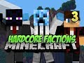 Minecraft Hardcore Factions - Ep. 3 First Time PvPing!