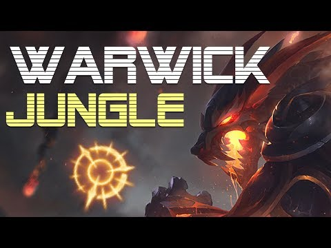 Warwick Jungle Guide - Climb to plat. ep11 - League of Legends