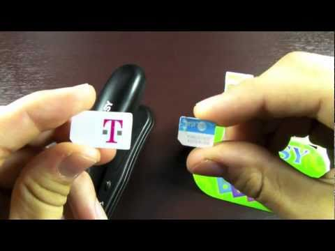 How To Cut Sim & Make a Micro Sim Card For iPhone 4 & iPad 3G