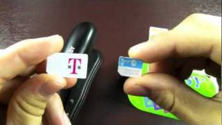 How To Cut Sim & Make A Micro Sim Card For IPhone 4S/4