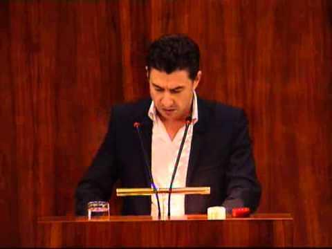 Moción sobre copago farmaceutico. Intervención de Rubén Bejarano (IU). 18-10-12