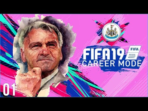 [NEW SERIES] FIFA 19 Newcastle Career Mode Ep1 - HOWAY THE MAGS!