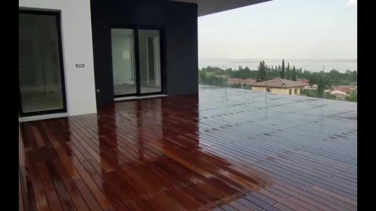 Pavimenti In Legno Per Terrazze. Panchine D Fioriera Da Pavimento In ...