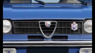 1974 Alfa Romeo Alfasud TI (Photo video with stereo engine sounds)