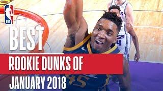 Best NBA Rookie Dunks | January 2018