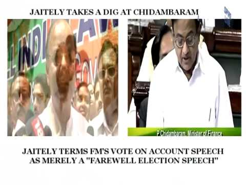 Arun Jaitely takes a dig at P.Chidambaram