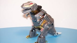 G1 TRANSFORMERS DINOBOT GRIMLOCK ACTION FIGURE TOY REVIEW