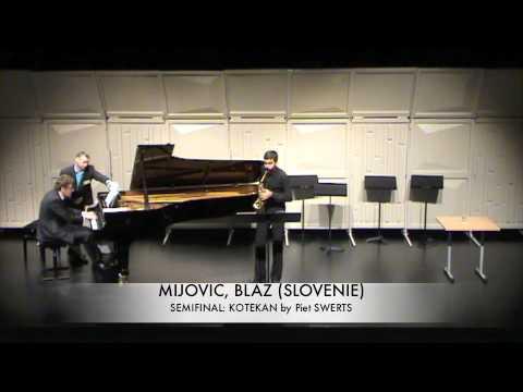 MIJOVIC, BLAZ (SLOVENIE) kotekan Piet SWERTS