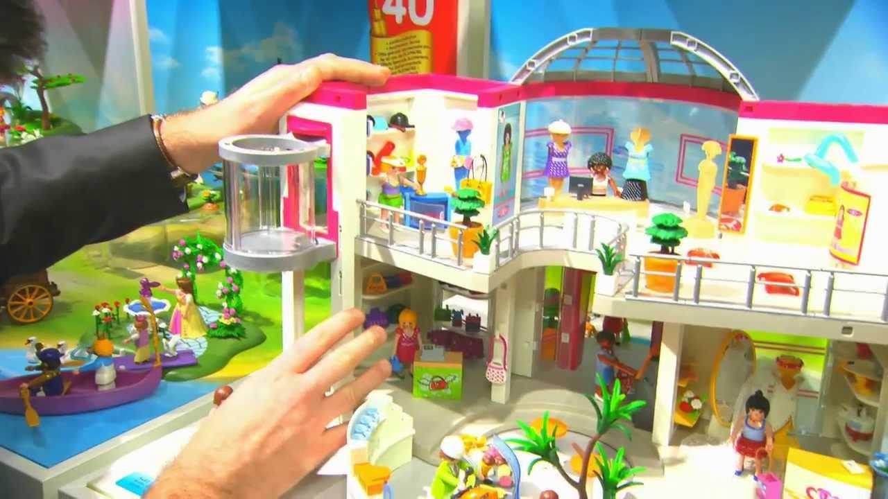 Playmobil france salon international du jouet 2014 youtube - Salon du jouet ancien ...