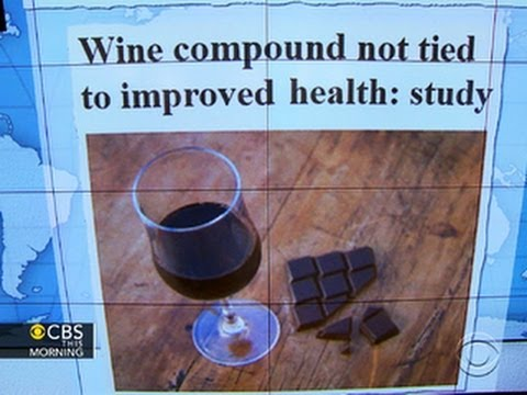 Headlines at 8:30: Wine and chocolate health benefits questioned