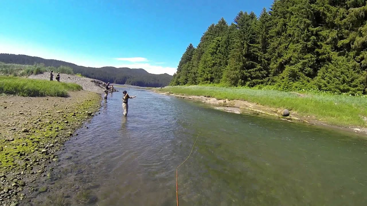 Fly fishing in juneau alaska youtube for Alaska out of state fishing license