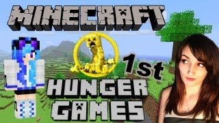 My First Ever Minecraft Hunger Games!!