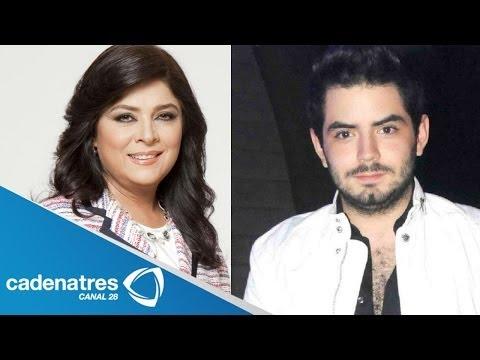 Victoria Ruffo habla de la sexualidad de su hijo José Eduardo Derbez