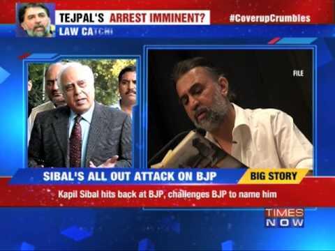 #CoverupCrumbles: Kapil Sibal vs Sushma Swaraj