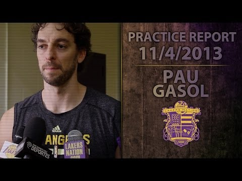 Lakers Practice: Pau Gasol Would Like Chris Kaman And Jordan Hill To Have Minutes