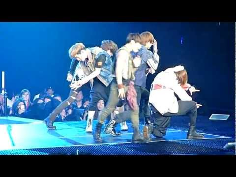 120520 SHINee - Sherlock @ SMTOWN 2012 Honda Center