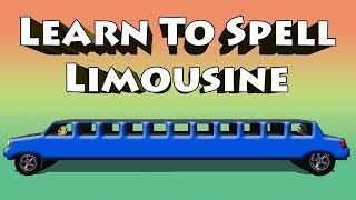 Learn To Spell Limousine - Vehicle Spelling Video For Kids Mercedes Rides