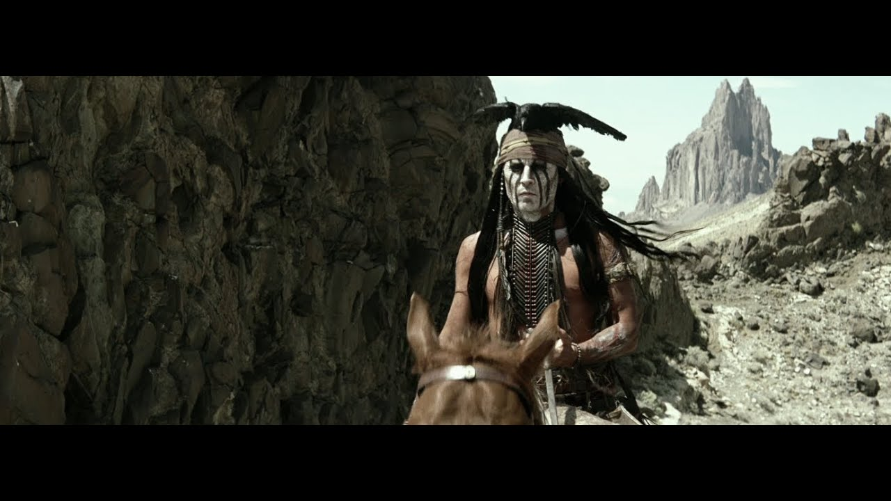 The Lone Ranger - Johnny Depp is Tonto 7/3!