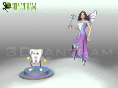Fairy Character Video Production by 3DYantram Animations Studio