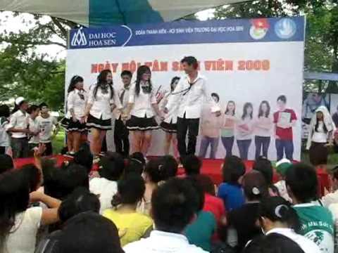 nhom nhay DK truong Hoa Sen - Don Tan SV