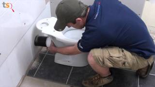 Liberty Pumps Ascent Ii Gpf Macerating Toilet System Install A Bathroom Anywhere Vea Mas