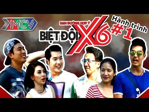 Biệt Đội X6 | Hành trình 1 | Kiều Minh Tuấn - Trương Nam Thành - Miko vs Cát Tường - Baggio - Mây.