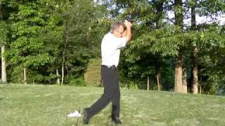 Golf Lesson By The Hawk, Strong Left Hand Grip,.MOV