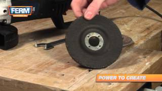 How To Choose The Right Disc For An Angle Grinder