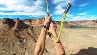 Desert Zipline BASE Jump