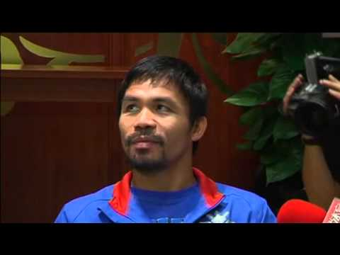 Manny Pacquiao Prepares For Return To The Ring