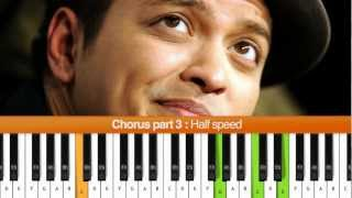 "How To Play ""When I Was Your Man"" (Bruno Mars) Piano Tutorial"