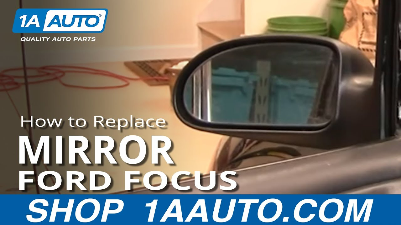 How To Install Repair Replace Fix Broken Side Rear View