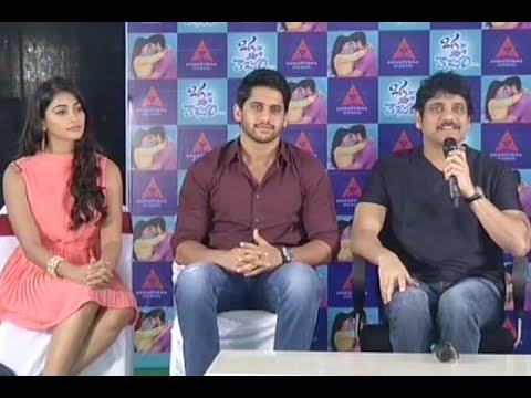 Oka-Laila-Kosam-Movie-Press-Meet---Nagarjuna--Naga-Chaitanya--Pooja-Hegde