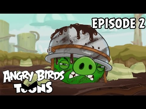 Angry Birds Toons #2 - Kde je má koruna?