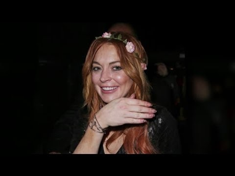 Lindsay Lohan Parties Hard In Cannes