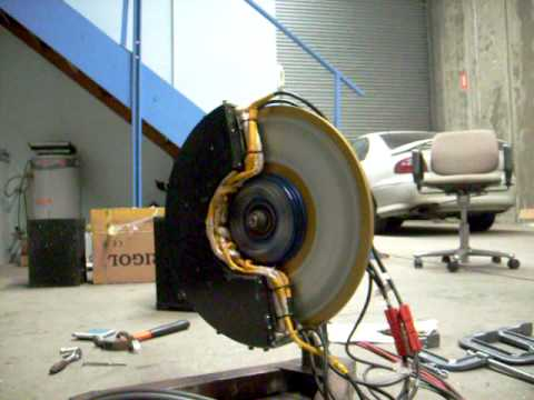 Electric Car In Wheel Motor Ac Induction Youtube