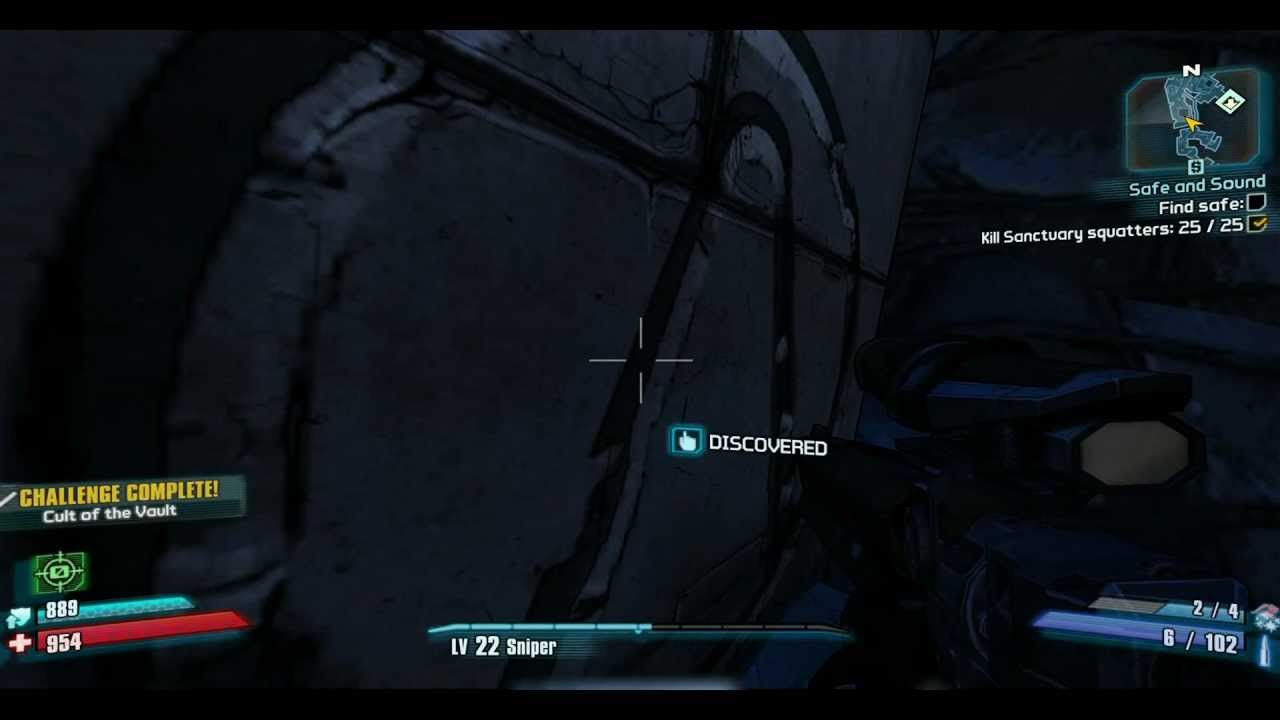 how to get to sanctuary hole in borderlands 2