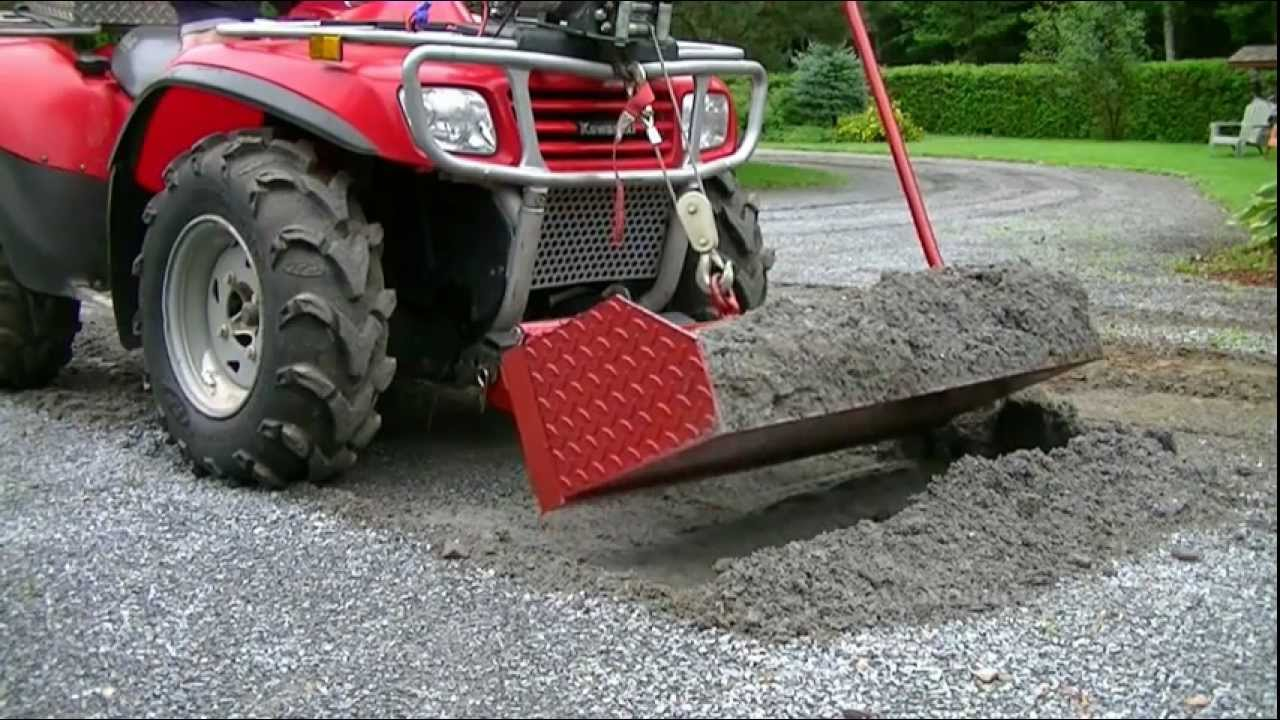 Honda Foreman For Sale >> Dump Bucket For ATV - YouTube