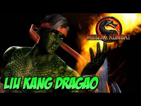 Liu Kang Dragão MOD   Mortal Kombat PC