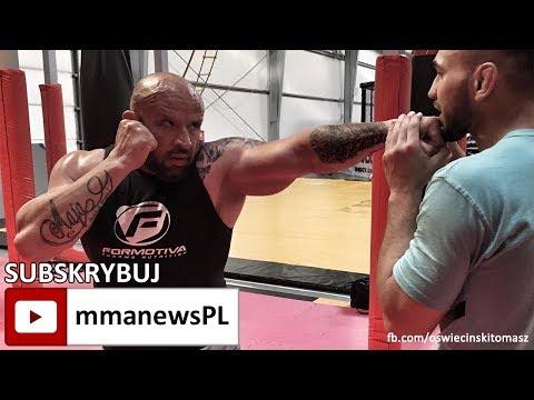 Tomasz Oświeciński o potencjalnej walce z Popkiem i debiucie MMA (+video)