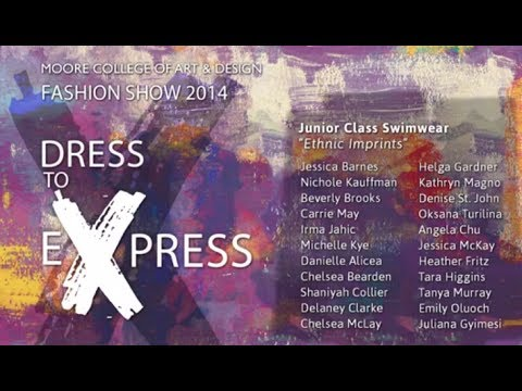 02 Swimwear // 2014 Moore Fashion Show // Dress to Express
