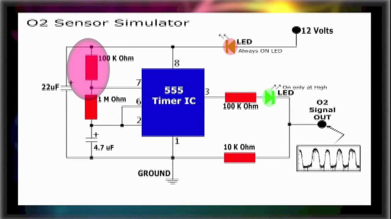 O2 Sensor Simulator - YouTube