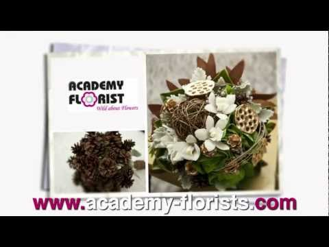 Holiday Flowers by Academy Florist