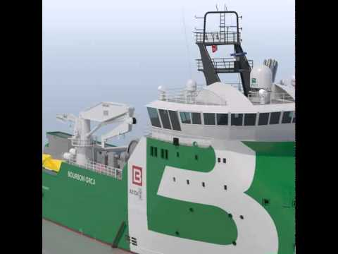 Anchor Handling Tug Supply Vessel BOURBON ORCA 3D model from CGTrader.com