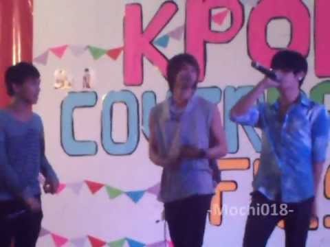 J.M.J. (Jericho, Maan and Jereme) on Hallyu Cover Dance Fiesta