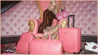 GUCCI MADE ME PINK CUSTOM LUGGAGE!