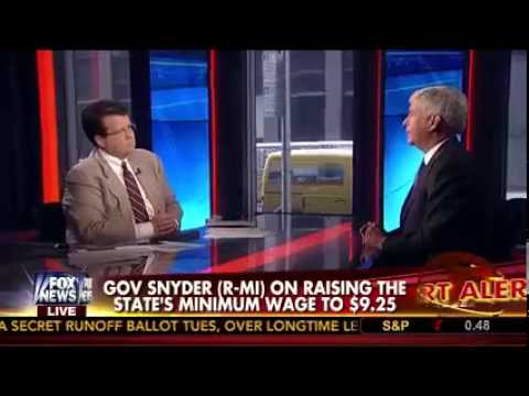 Michigan Gov. Rick Snyder on FOX News' Your World with Neil Cavuto