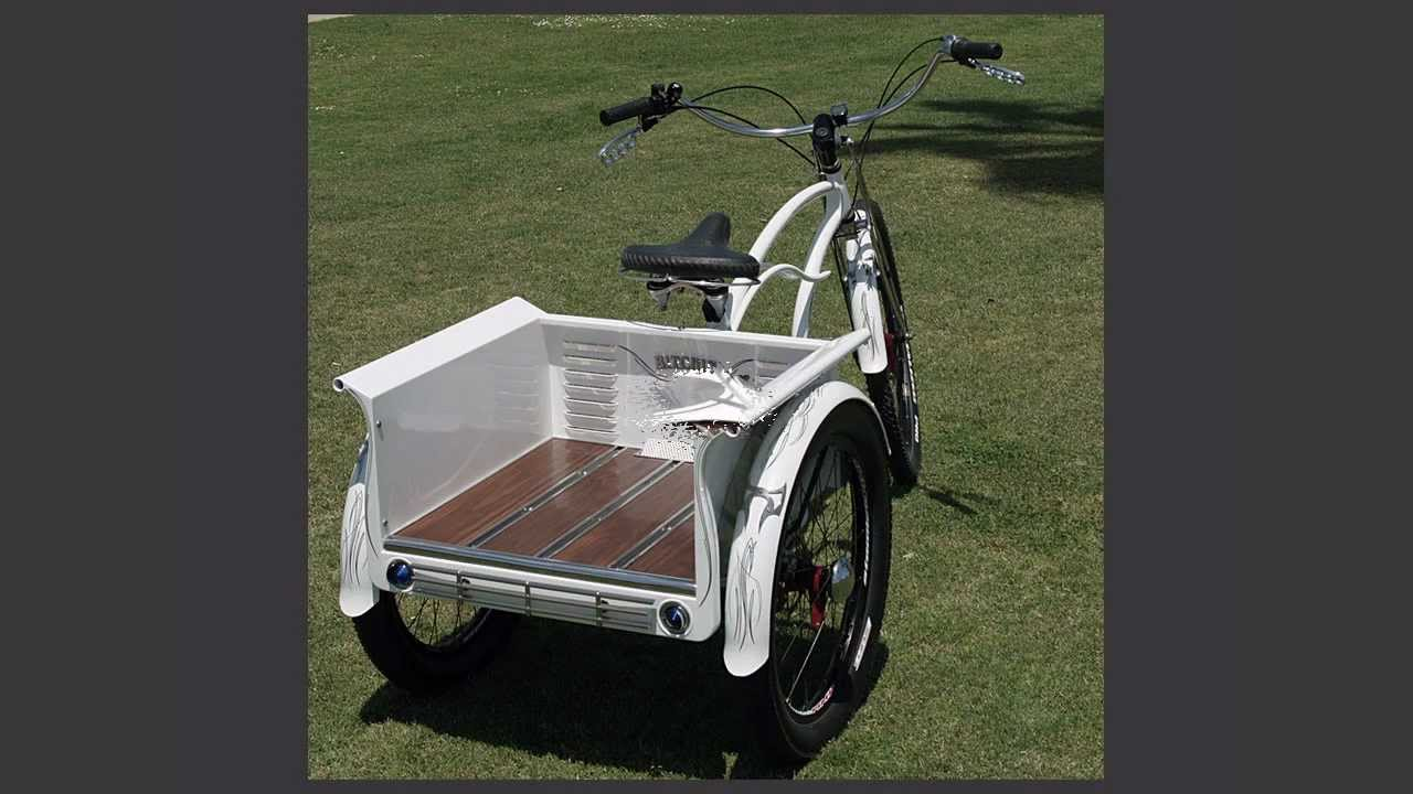 Custom Beach Cruiser Trike The QuotTransformerquot  YouTube